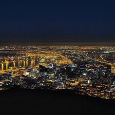 """@gerhardmyburgh """"Another view from Signal hill. First time out shooting night scenery."""" _______________________________ If you'd like to see your images being featured here just use #capetownmag - We really enjoy sharing your shots of all the different aspects of the Mother City and the rest of the Western Cape. Signal Hill, Night Scenery, Time Out, Cape Town, Your Image, First Time, Westerns, City Photo, Shots"""