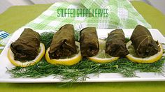 Dolmas (Stuffed Grape Leaves) | A New York Foodie