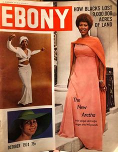 Ebony Magazine Cover, Magazine Cover Page, Jet Magazine, Black Magazine, Music Icon, Soul Music, Women In History, Black History, Daniel Ramos