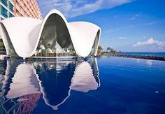 """""""La Concha—an icon of Tropical Modernist architecture—fits the ideal of a chic Caribbean resort."""" You can't go wrong with La Concha's stunning views and seven unique meeting spaces. via @Fodor's Travel"""