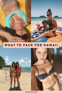 Looking for a Hawaii packing list or wondering what to bring to Hawaii? Here's a full list of what to pack for Hawaii (or any beach vacation! Travel Deals, Travel Tips, Hawaii Vacation Tips, Hawaii Travel, Stylish Camera Bags, Yacht Week, Hawaii Usa, What To Pack, Travel Style