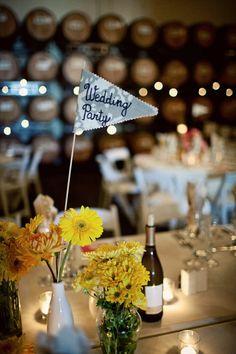 Décoration de table de mariage bien fait