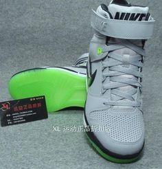 best sneakers fd028 2b7f3 Sale Cheap Nike Shoes 2015 Nike Air Revolution Sky HI Cement Grey Black  Pale Green