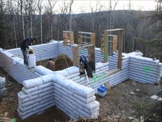 Watch us build an Earthbag House in Fairbanks, AK! Music by Dragonforce! This time lapse covers two months of building with 2 people. This is not an instruct...