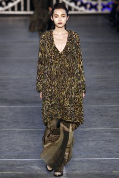 Kenzo F/W '11 - love the colours