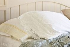 Tutorial: Easy lace trim pillowcases – Sewing | Sewing | CraftGossip | Bloglovin