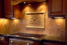 Ro s tuscan tile backsplash designs Modern Kitchen Tiles, Kitchen Wall Tiles, Kitchen Backsplash, Kitchen Decor, Kitchen Design, Modern Kitchens, Backsplash Ideas, Kitchen Ideas, Tile Steps