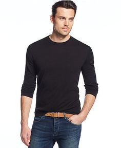 Michael Kors Long-Sleeve T-Shirt Sweater Shirt, Long Sleeve Sweater, Men Sweater, T Shirt, Michael Kors Men, Mens Fashion, Guys, Sweaters, Mens Tops