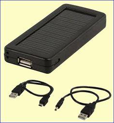 De SOL-PC011-HQ is een backup-accu met een uitgangsspanning van 5,0 V en een capaciteit van 1,4 Ah. Met deze accu kunt u uw door 5 V gelijkspanning gevoede draagbare apparatuur voeden, zoals MP3-spelers, telefoons, PDA's, etc. Geen 230 V stopcontact nodig! De SOL-PC011-HQ zélf kunt u opladen uit de 5 V USB-poort van uw PC of door middel van het ingebouwde zonnecel-paneel. http://www.vego.nl/accu/sol-pc011-hq/sol-pc011-hq.htm