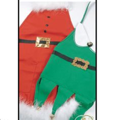 Santa and Elf aprons from Beverly's.com           's