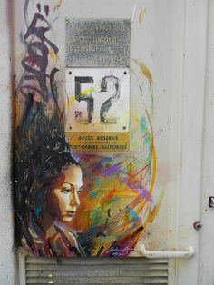 C215 - Vitry by C215, via Flickr