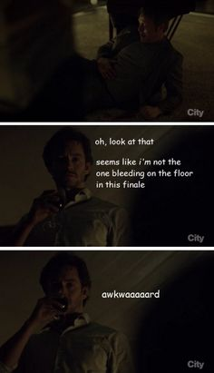 Will has absolutely no chill. Hannibal crack. Source: empathetic-symphony.tumblr