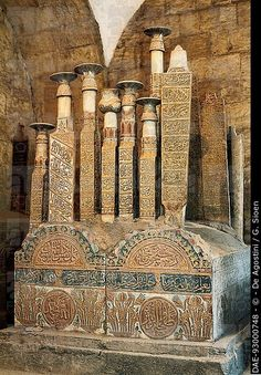 The Mamluk tombs, City of the Dead, Cairo, Egypt.