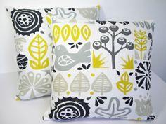 Harlequin Scion Woodland Scandinavian Cushion Cover-YELLOW