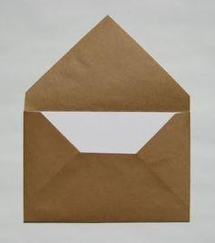 Easy envelopes for handmade cards