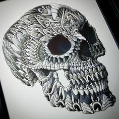 Ornate Skull by BioWorkZ