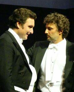 Baritone Ludovic Tezier and tenor Jonas Kaufmann