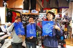 【大阪店】2014.11.08 仲良し3人組にスナップにご協力頂きました!!こちらのお客様もエレクトリックラン参加ということでした。頑張ってくださいね~