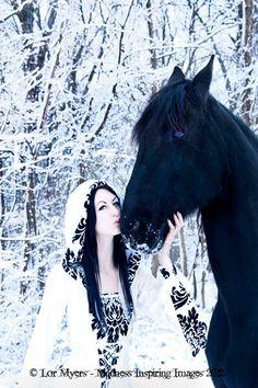 medieval renaissance vampire hooded gothic dress custom made. $242.00, via Etsy.