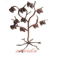 Antique Copper Jewelry Tree ~ Earring Display (Kitchen)  http://www.1-in-30.com/crt.php?p=B003ZTYF2M  B003ZTYF2M