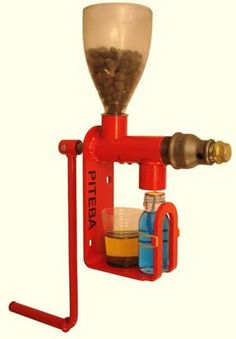 Home oil press! Press your own sunflower oil, etc. How's that for self-sufficiency?