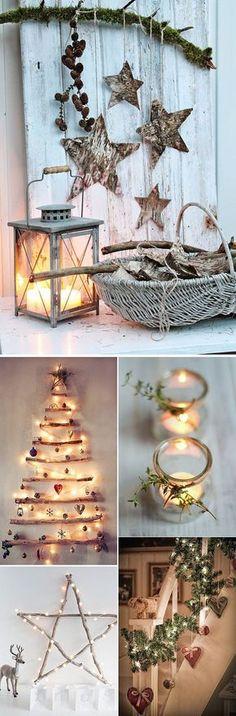 Decoracion nordica para navidad