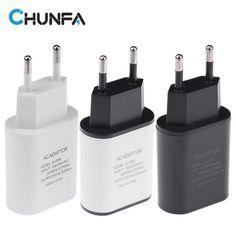 [#] ราคา New EU Plug USB Charger 5V 2A Safe Fast Charging USB...