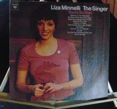 Lisa Minnelli Lp The Singer Near Mint #ContemporaryJazzCoolGypsyJazzJazzPop