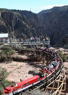 Royal Gorge Scenic Railway, Colorado Springs - would love to visit Colorado & do this