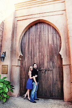 Orlando Wedding Photographers: Gianna and Ryan's Engagement Photography at Epcot in Disney World