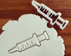 Syringe cookie cutters & others biscuit biscuits Gifts by Made3D