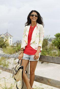 tropical - adorable shorts!