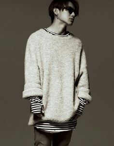 Naoto 三代目j Soul Brothers, Japanese Men, Big Love, Japanese Artists, Must Haves, Men Sweater, Outfits, Style, Grey