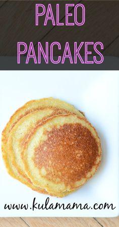 paleo pancakes #paleo #glutenfree #realfood #grainfree