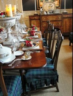 I can't imagine a world without tartan, and I especially love this gorgeous plaid during the holidays! Christmas and tartan go together at...