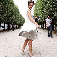 Luxury quality dress without sleeves in Paris. Russian designer for summer nights