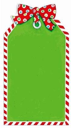 CHRISTMAS PRINTABLE TAG