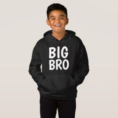 BIG BRO BROTHER kids T-shirts & Hoodies - kids kid child gift idea diy personalize design