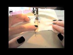 ▶ Seams - E01 - YouTube...slot seam here.  (FCCLA - Fashion Construction STAR event) Basic Sewing, Sewing Basics, Sewing Tips, Sewing Hacks, Flat Felled Seam, Star Events, French Seam, Fashion Portfolio, Apparel Design