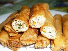 Lumpiang Isda, Lumpiang Galungong, Fried Fish Rollalt=