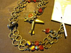 Steampunk Military Necklace by Joan Kettell aka Auroratique
