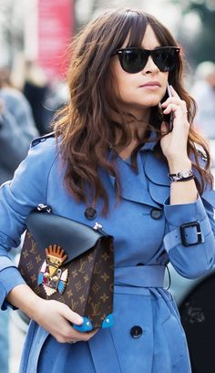 Emmy DE * Best Accessories: Miroslava Duma 2015 #louisvuitton