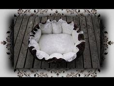 ▶ DIY ♔ Kuschelnest das Bett für Katzen & Hunde selber nähen - YouTube