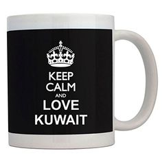 Fuuny Coffee Mugs Keep calm and love Kuwait Mug -- Remarkable product available now. : Cat mug
