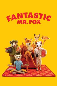 Fox : Full Length Movies The Fantastic Mr. Fox Bored With His Current Life, Plans A Heist Against The Three Local. Fantastic Mr Fox Movie, Fantastic Four, Roald Dahl, Fox Movies, Movie Tv, George Clooney, Meryl Streep, Peliculas Online Hd, Pikachu
