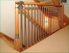 Chrome and Nickel Fusion Staircase Banisters, Glass Panels, Chrome, Furniture, Home Decor, Stair Railing, Interior Design, Home Interior Design, Arredamento