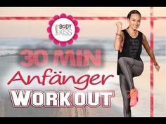Abnehmen mit Training Zuhause - 30 Min Workout für Anfänger - Ohne Springen & Knieschonend - YouTube