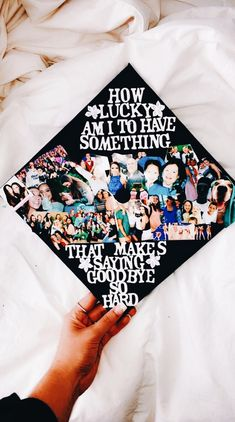Looking for inspiration to DIY your college graduation cap? Find 47 amazing graduation cap ideas that are sure to catch the eye of everyone! From hilarious graduation caps to meaningful ones, whatever you are looking for, you'll find it here Funny Graduation Caps, Graduation Cap Designs, Graduation Cap Decoration, Graduation Pictures, College Graduation, Graduate School, Graduation Ideas, Funny Grad Cap Ideas, Sorority Graduation Caps