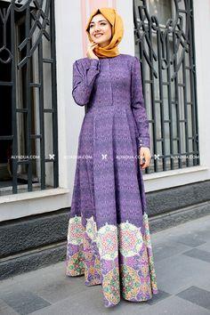 Gamze Polat - Lila Hürrem Dress