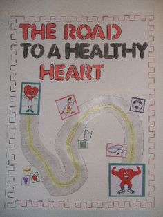 mental health bulletin board ideas | Road to a Healthy Heart Image